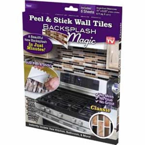 Backsplash Magic Peel and Stick Wall Tiles