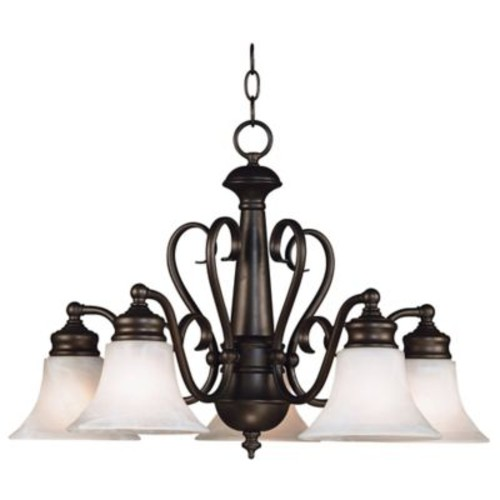 Kenroy Home Wynwood 5-Light Chandelier in Bronze