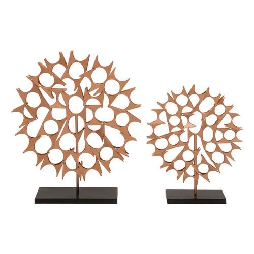 Metal Table Top Sculptures (Set of 2)