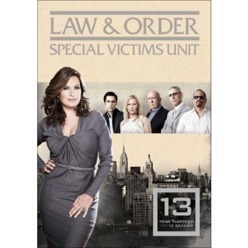 Law & Order: Special Victims Unit - Year Thirteen [5 Discs]