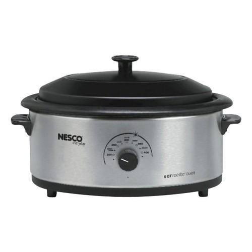 Nesco - 6-Quart Roaster - Stainless-Steel