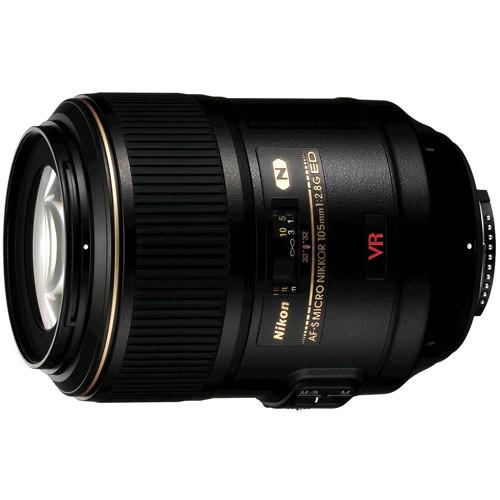 Nikon AF-S VR Micro-NIKKOR 105mm f/2.8G IF-ED Lens [Lens Only]