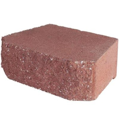 Pavestone 11.75 in.x 6.75 in.x 4 in. River Red Concrete Retaining Wall Block (144 Pcs / 46.5 Face ft. / Pallet)
