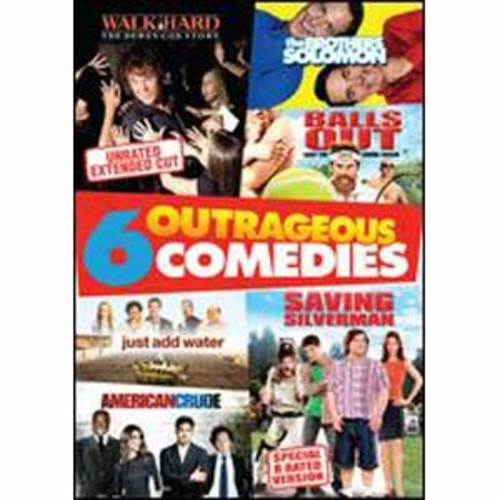 Outrageous Comedies: 6 Movies [2 Discs]