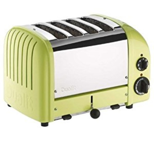Dualit 4 Slice Classic Toaster, Lime Green [Lime Green, 4-Slice]