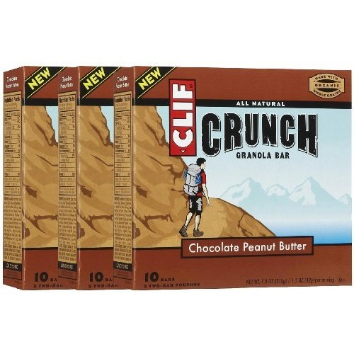 Clif Crunch Granola Bars - Chocolate Peanut Butter - 1.5 oz - 5 ct [Chocolate Peanut Butter]