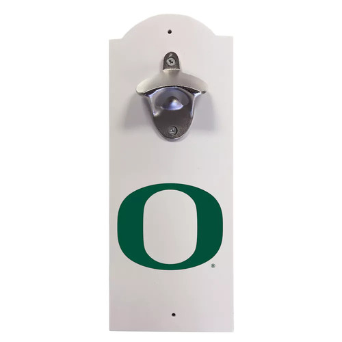 Oregon Ducks Wall-Mounted Bottle Opener
