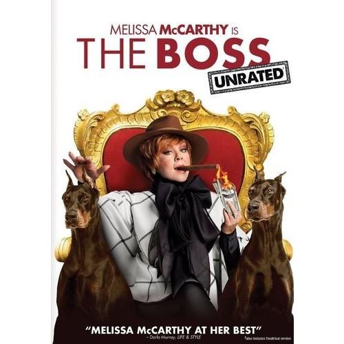 The Boss [DVD] [2016]