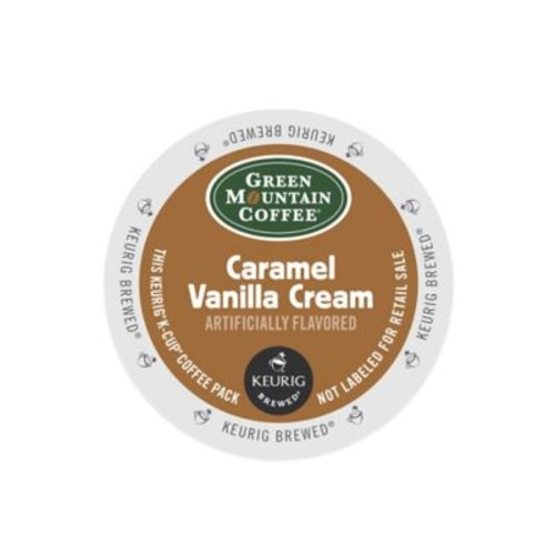 Keurig K-Cup Pack 18-Count Green Mountain Caramel Vanilla Cream Coffee