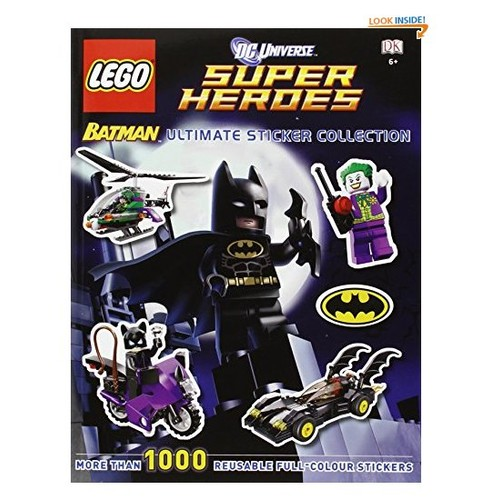 LEGO Batman Ultimate Sticker Collection LEGO DC Universe Super Heroes (Ultimate Stickers)