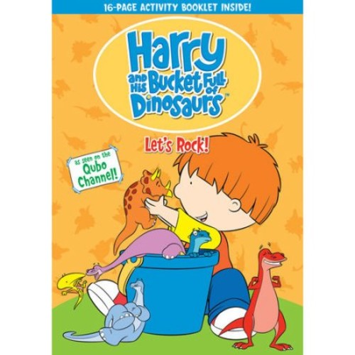 Harry & His Bucket Full of Dinosaurs: Let's Rock! (DVD)