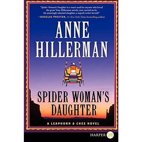 Spider Woman's Daughter (Leaphorn & Chee)