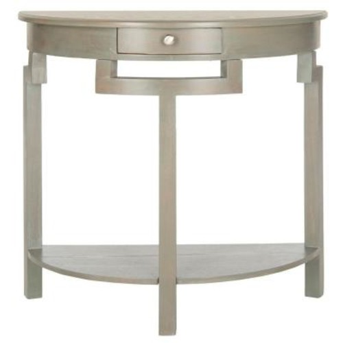 Safavieh Liana French Grey Storage Console Table