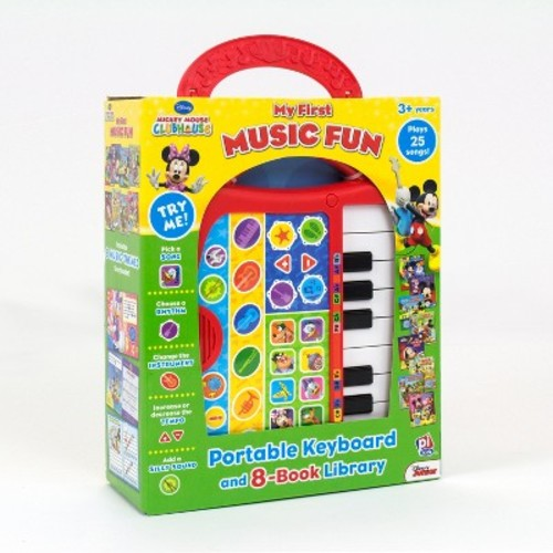 Disney Junior Mickey Mouse Clubhouse 8 Books My First Music Fun Box Set