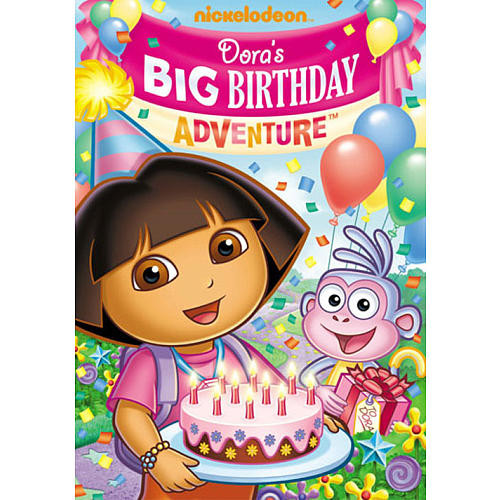 Dora the Explorer: Dora's Big Birthday Adventure DVD