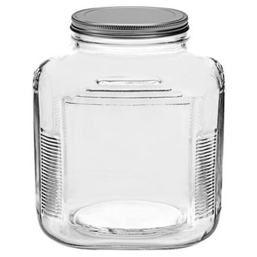 CRACKER JAR ANCHOR LRG GLASS W/LID
