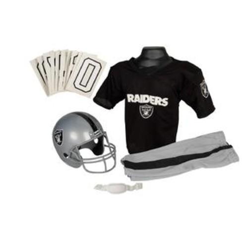 Franklin Sports 15701F22P1Z NFL RAIDERS Medium Uniform Set