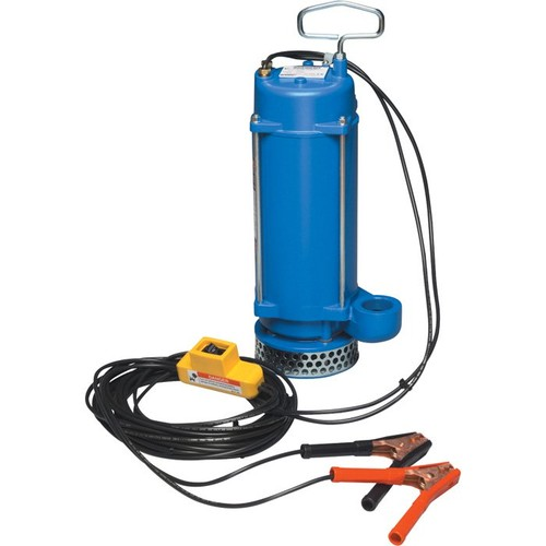 PortaPump 12 Volt Submersible Water Pump  2580 GPH, 1/3 HP, 1 1/2in. Ports, Model# SPA1 1/2E3