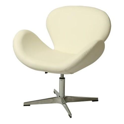 Impacterra Le Parque Lounge Chair; Ivory