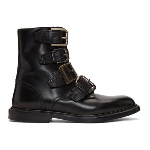 DOLCE & GABBANA Black Michelangelo Boots