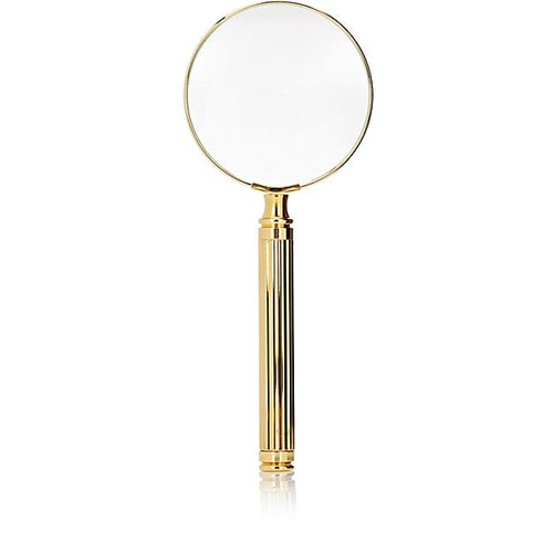 El Casco 23k Gold-Plated Magnifying Glass