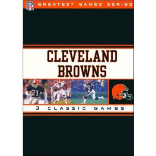 Cleveland Browns: NFL Greatest Games [3 Discs] [DVD]