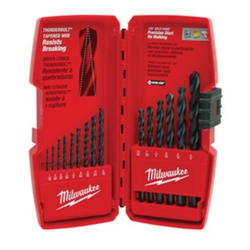 Milwaukee 48-89-2803 15Pc Blk Drill Bit Set