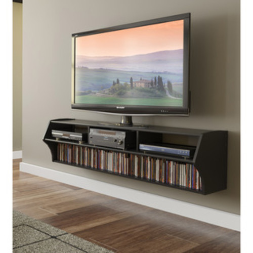 South Shore Furniture City Life Wall Mounted Media Console