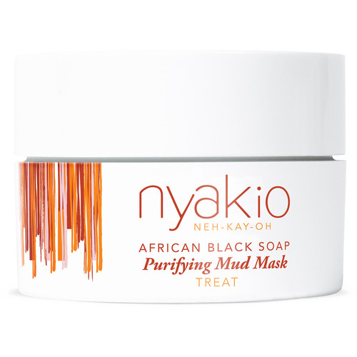 African Black Soap Purifying Mud Mask