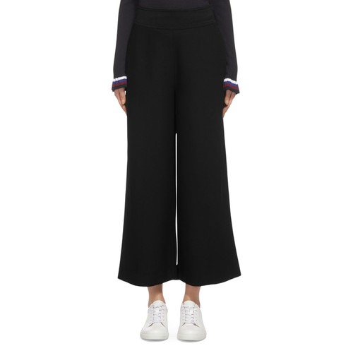 WHISTLES Stitch Flare Crop Pants