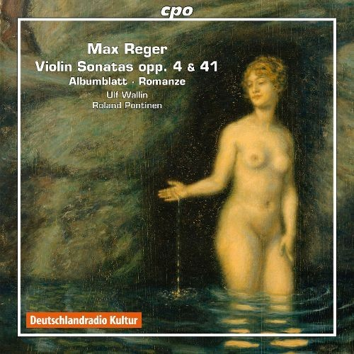 Reger: Violin Sonatas [CD]