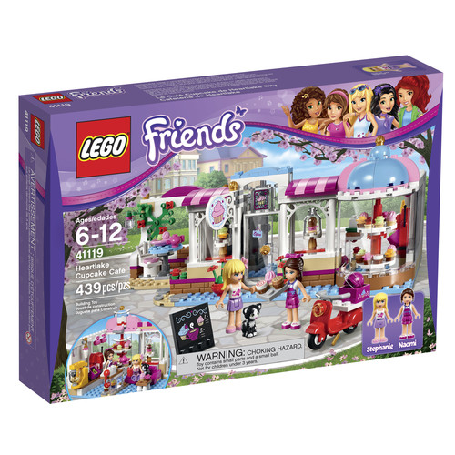 LEGO FRIENDS Heartlake Cupcake Cafu0026#233;