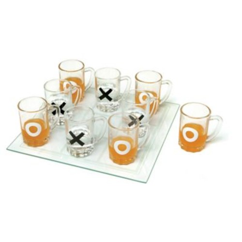 Home Essentials & Beyond Tic-Tac-Toe Drinking Game