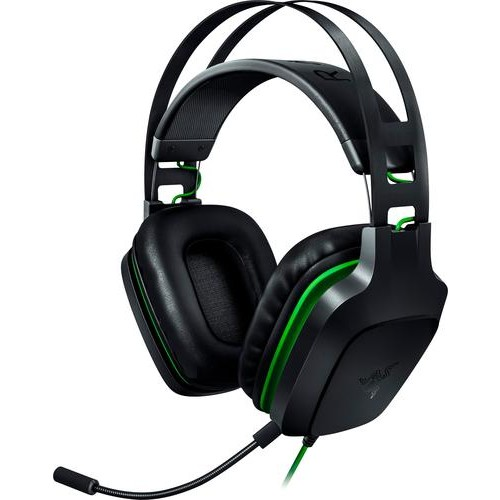 Razer - Electra V2 Wired Virtual 7.1 Surround Sound Gaming Headset for Windows, Mac, PS 4, Xbox One, Switch and Mobile Devices - Black