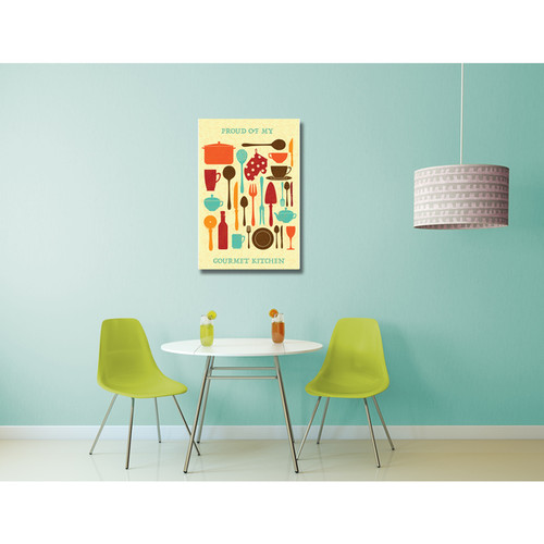 Kitchen Art 'Gourmet Kitchen' Gallery Wrapped Canvas Wall Art