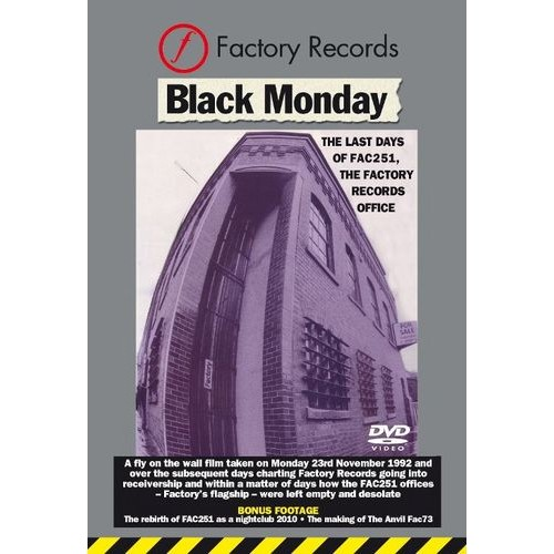 Black Monday: The Last Days of the Factory Records Office 1992 [DVD]