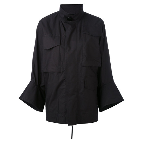 MARNI Flared Cuff Military Style Jacket