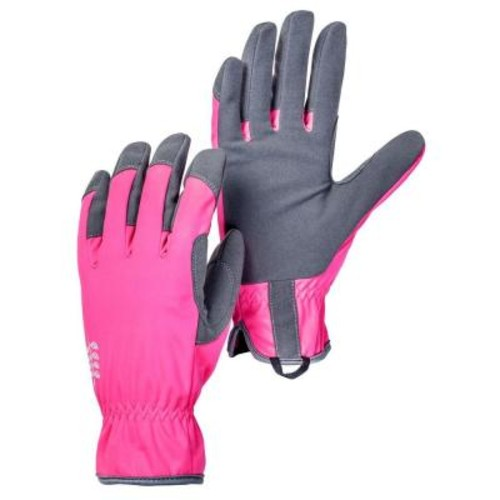 Hestra Large Size 9 Pink/Grey Gardening Gloves