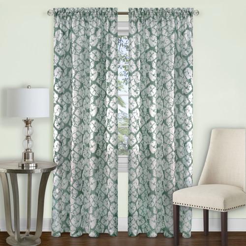 Achim Batik Window Curtain Panel
