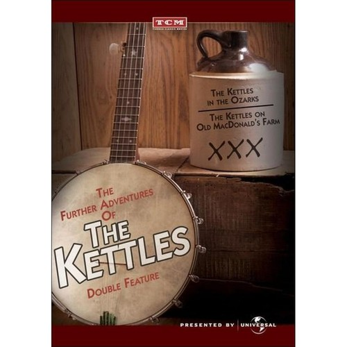 The Further Adventures of the Kettles: The Kettles in the Ozarks/The Kettles on Old McDonald's Farm [DVD]