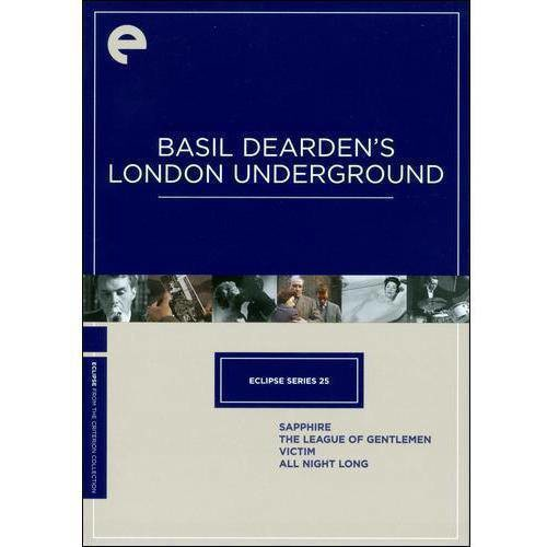 Eclipse Series 25: Basil Dearden's London Underground (Sapphire / The League of Gentlemen / Victim / All Night Long)