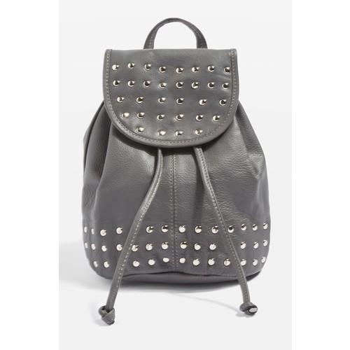 Leather Studded Mini Backpack