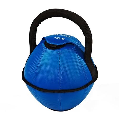 Sunny Health \u0026 Fitness 10-lb Soft Kettlebell