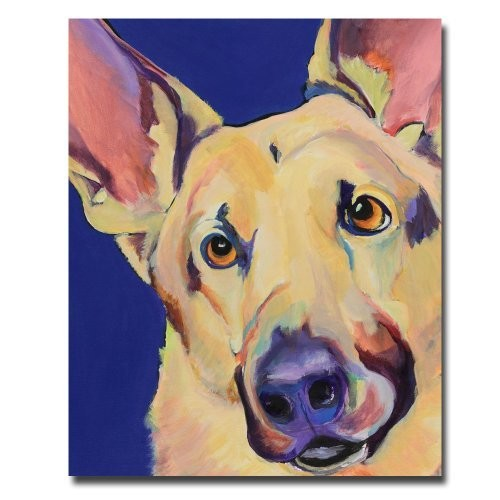 Freida by Pat Saunders-White, 18x24-Inch Canvas Wall Art [18 by 24-Inch]