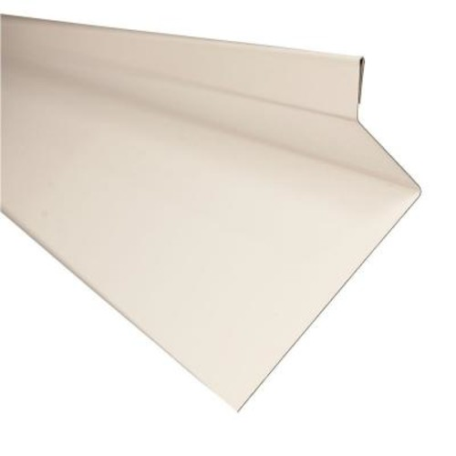 Metal Sales Drip Cap in White