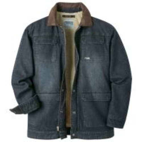 Mountain Khakis Ranch Shearling Jacket - Men's, Jacket Style: Urban, Urban Cotton Canvas, Insulation: Foam w/ Free Shipping [Mens Clothing Size : Medium]