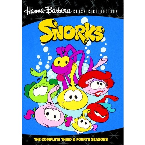 Snorks: The Complete Third and Fourth Seasons [5 Discs] [DVD]