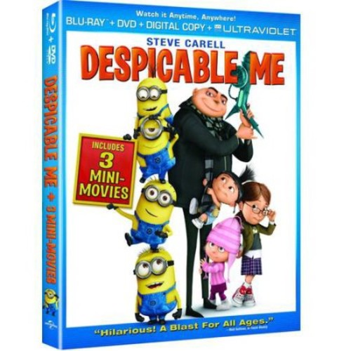Despicable Me (Blu-ray + DVD + Digital HD) (With INSTAWATCH) (Widescreen)