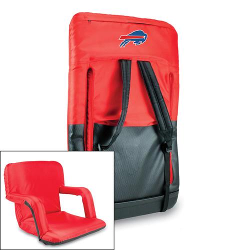 NFL Portable Ventura Reclining Stadium Seat [Red, New England Patriots]