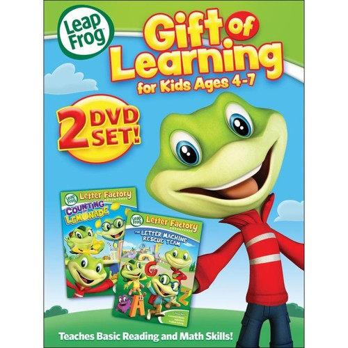 LeapFrog: Gift of Learning - For Kids Ages 4-7 [2 Discs] [DVD]
